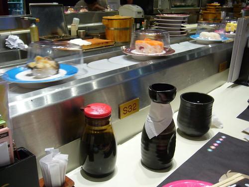 Sushi Bar in Hong Kong