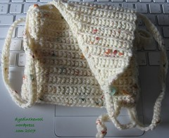 crochet bag with flap