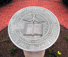 SBTS  Plaque in front of Norton Hall