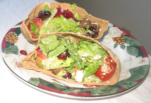 Greek Salad Pita Pockets