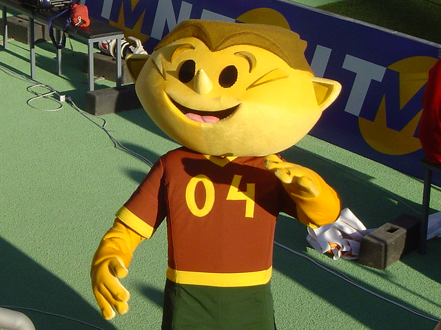 Mascota Euro 2004 Portugalia