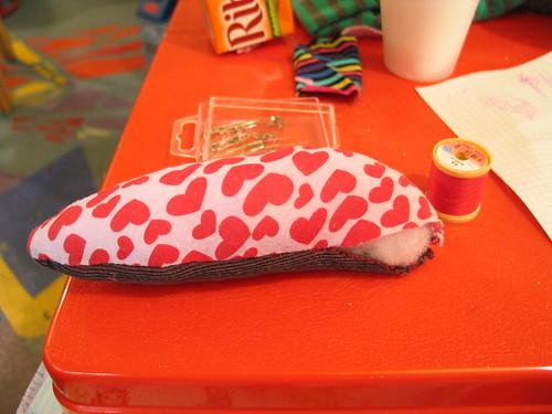 Slug with stuffing