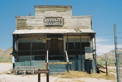 Rhyolite Mercantile in Rhyolite, Nevada