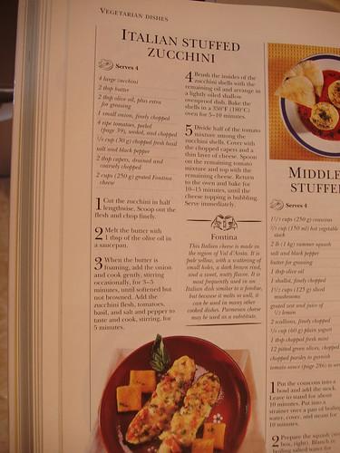 Recipe for Farmer's Market Zucchini