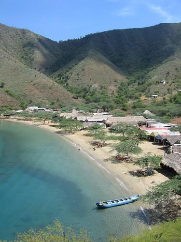 Taganga, Colombia - Playa Grande