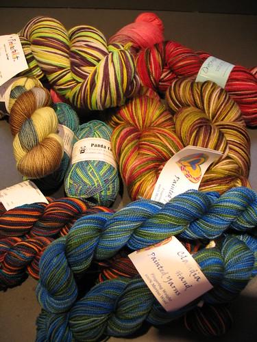 Sock Yarn Extravaganza