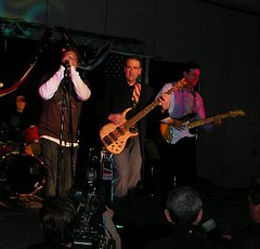 Mike Huckabee's band at the Lincoln Day Dinner...
