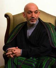 931103-阿富汗總統哈米德‧卡札-Harmid Karzai, President of Afghanistan, Nov. 3, 2004