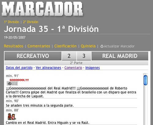 Recreativo-Madrid