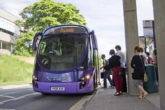 Students boarding FTR
