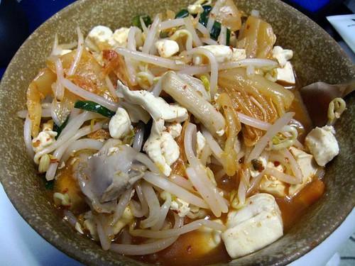 豆芽泡菜/kimchi