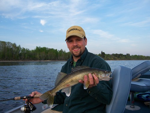 Wally with 17 inch Opening Day Walleye.jpg