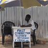 public phone operator, Ghana