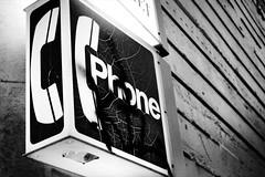 chinatown phone booth