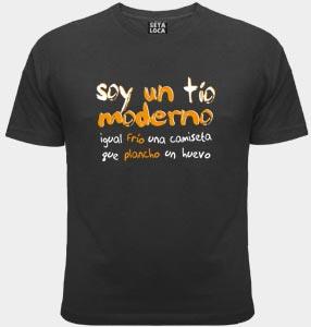 Camiseta Tio moderno
