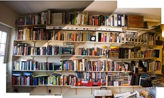 Kindles are cool and everything, but bookshelves are better
