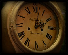 Antique Clock by John Levanen