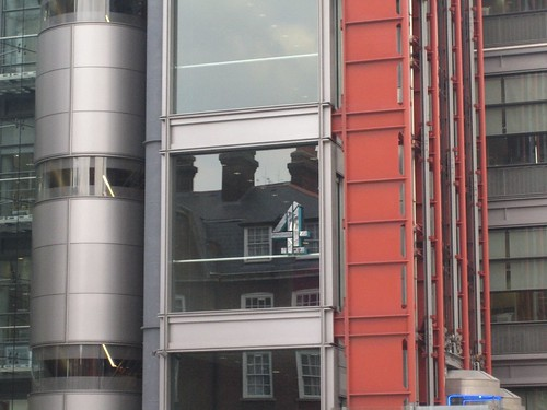 Channel 4 logo on their building
