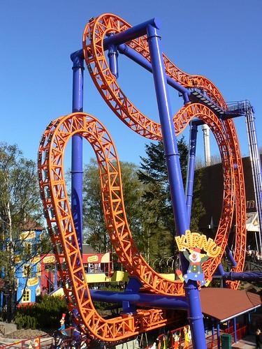New Kirnu roller coaster in Linnamäki (Helsinki)