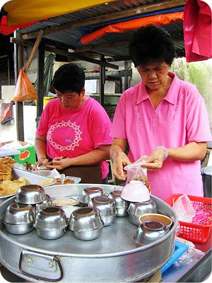 Wun chai ko stall