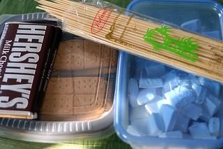 homemade s'more kit