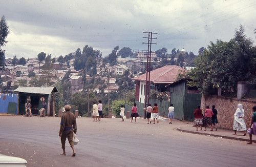 top of the '70 steps' in Addis, ca. 1964
