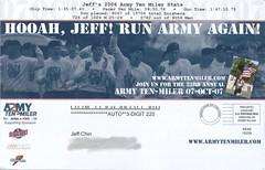 Army Ten Miler - back