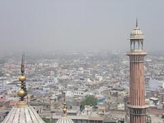 Jama Masjid, Delhi, View from Minarett