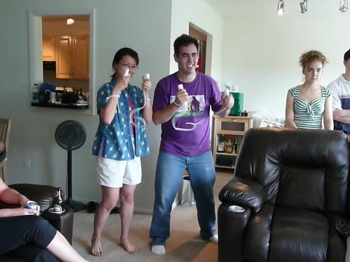 Josh and Diane Wii box