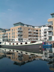 Canalside developments, Brentford