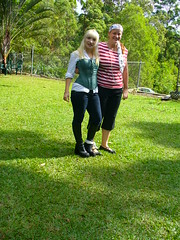Bekky and Liz