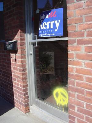 Campaign headquarters, Keene, NH