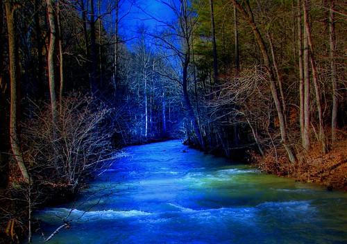 Frosty Morning Creek
