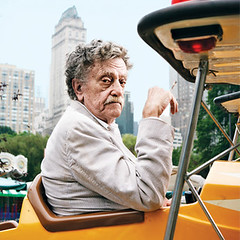 Kurt Vonnegut is in heaven now