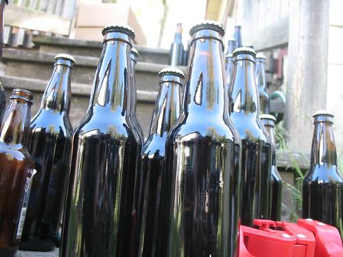 Bottles on the Proch