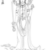 臨摹13-虛空藏菩薩