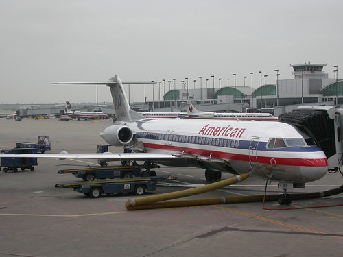 American Airlines Chicago airport