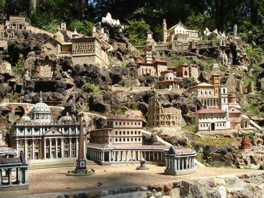Colisseum in Miniature at Ave Maria Grotto, Cullman AL