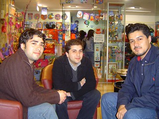 Cristian, Claudio y Christian