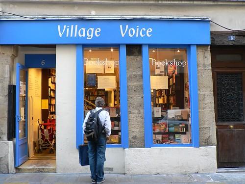 Village Voice shop