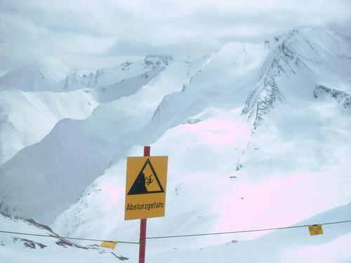 Tyrol danger sign