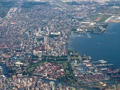 Manila aerial shot