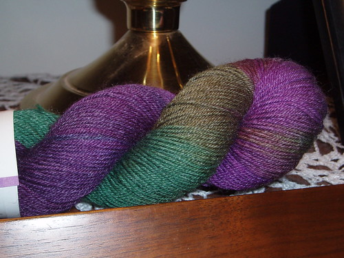 Lorna's Laces Shepherd Sock in Purple Iris
