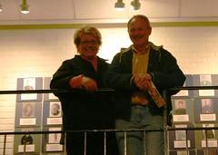 04.07.07 Gettysburg - Museum - Sam and Anje 3