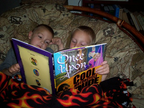 The Dudes reading