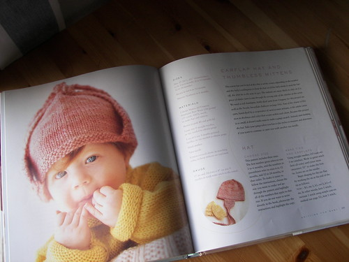 hat in book