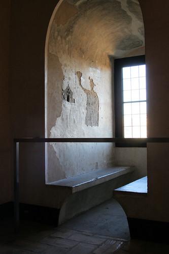 Graffittis en la Torre del Trovador (Palacio de La Aljaferia, de Zaragoza)