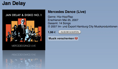 Jan Delay Mercedes Dance live