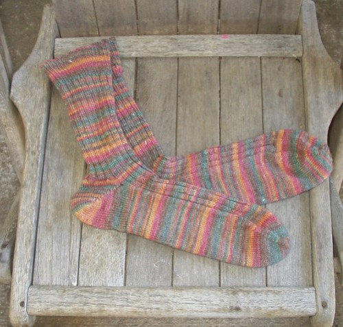 socks I got in a swap!