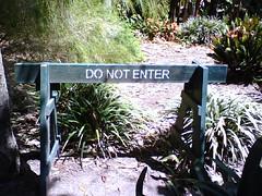 Do No Enter